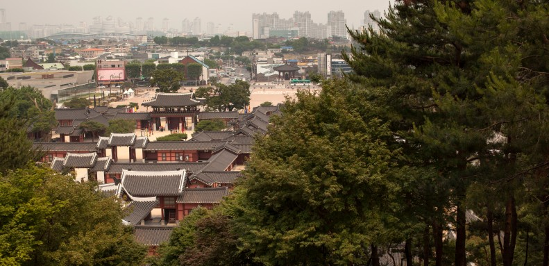 Hwaseong from Above s