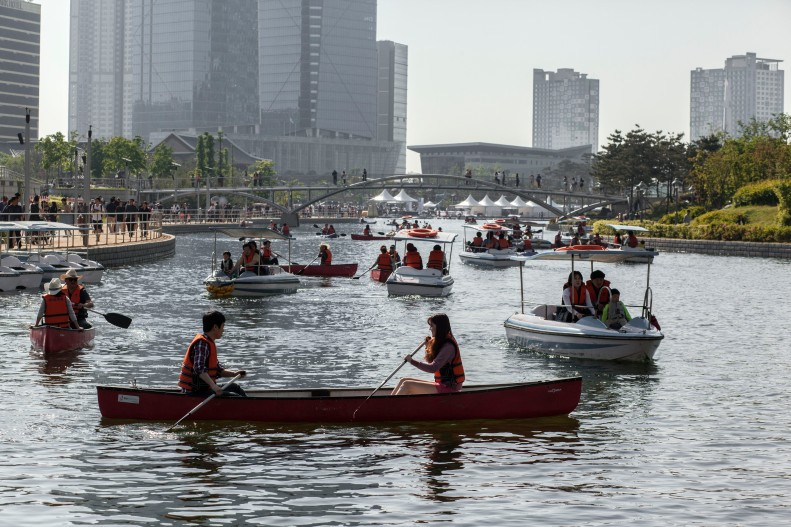 Incheon Central Park Canoing