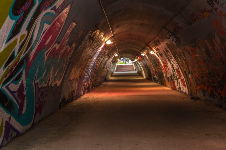Shinchon Graffiti Tunnel