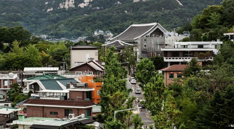Looking Down 3 Cheong Ro 7 Gil Samcheong-Dong