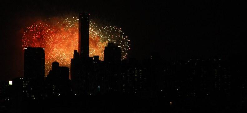 Korea Foundation Fireworks show